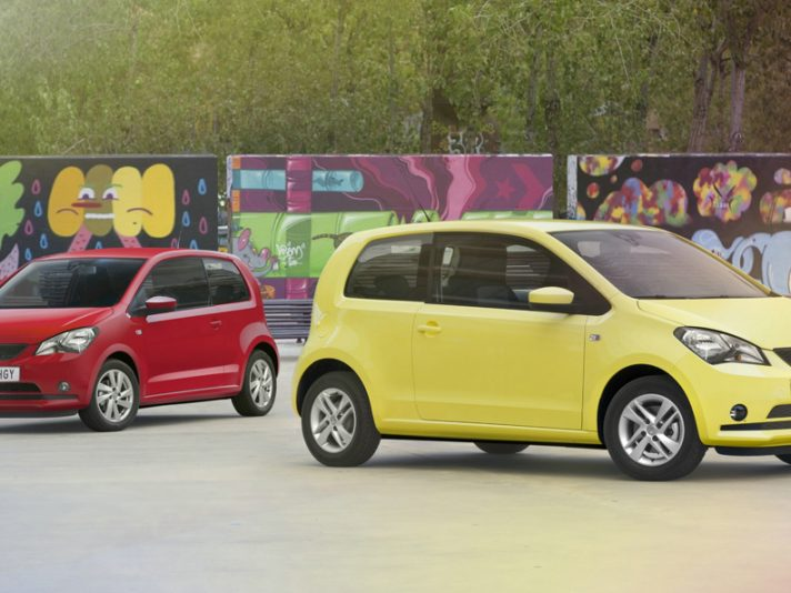 Seat Mii - Red - Yellow