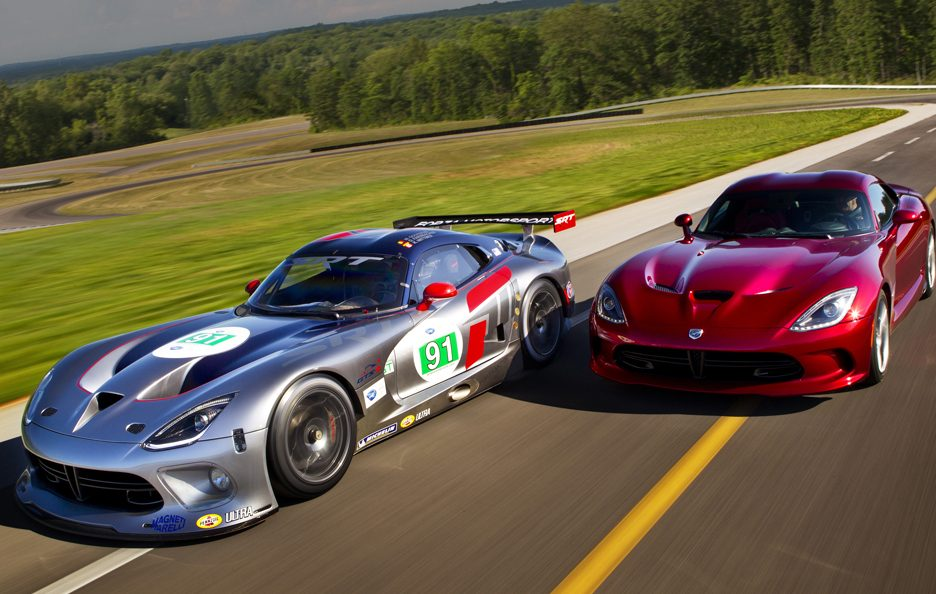 Viper GTS-R - In motion