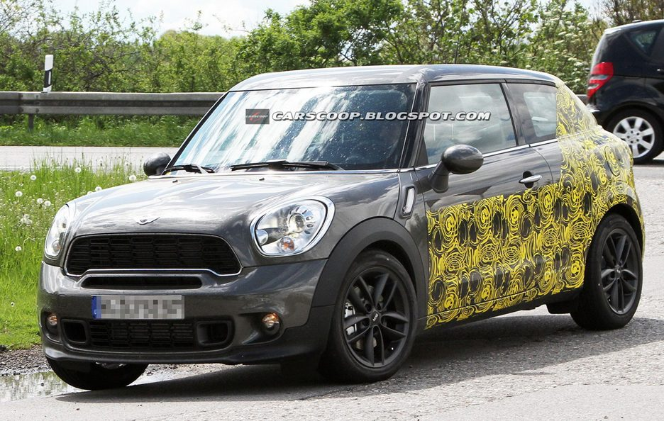 Mini Paceman - Frontale