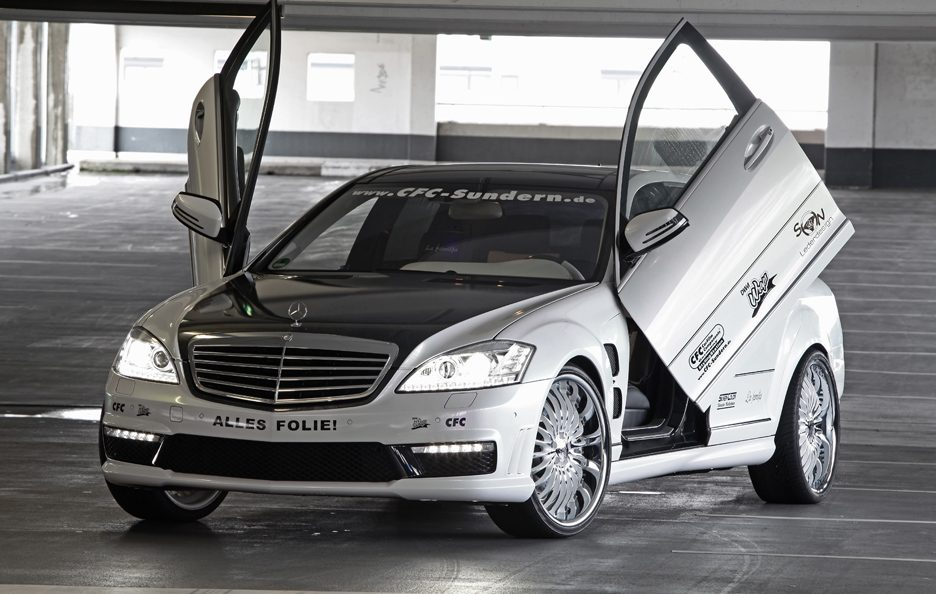 Mercedes S65 AMG V12 by CFC-Sundern DESIGN WORLD - Portiere ad ali