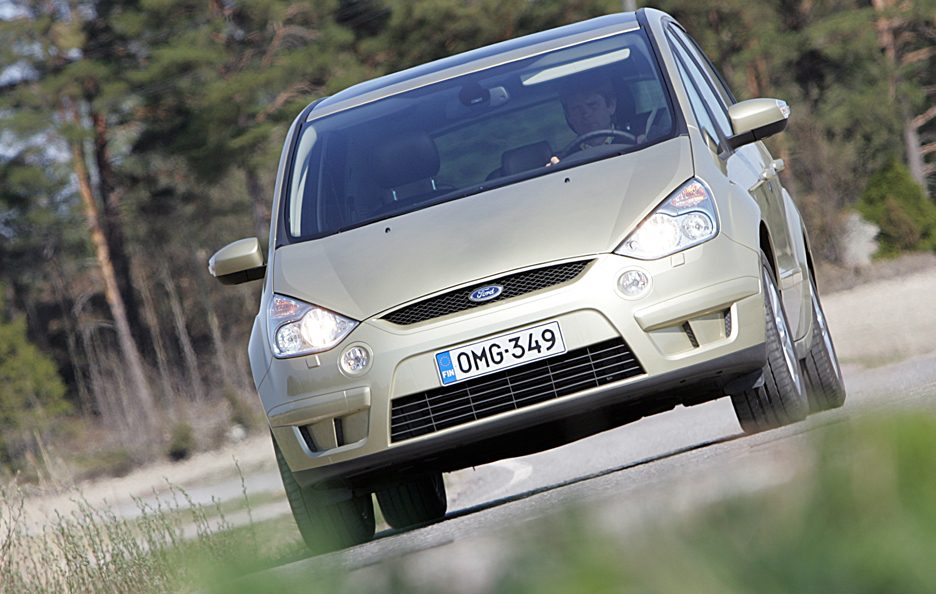 Ford S-Max frontale