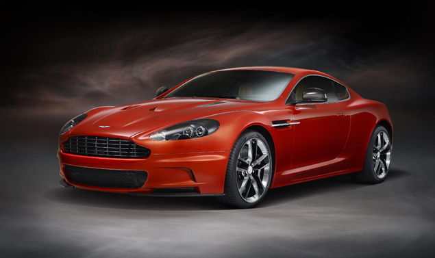 Aston Martin DBS Carbon Edition - Frontale