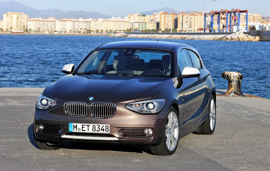 BMW Serie 1 125d - Frontale