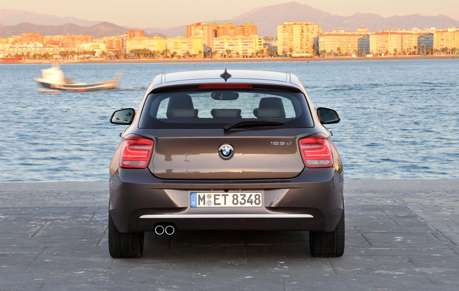 BMW Serie 1 125d - Posteriore