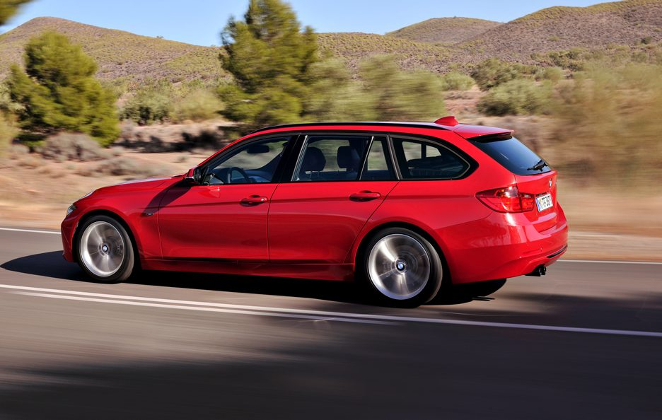 BMW Serie 3 Touring - Il laterale
