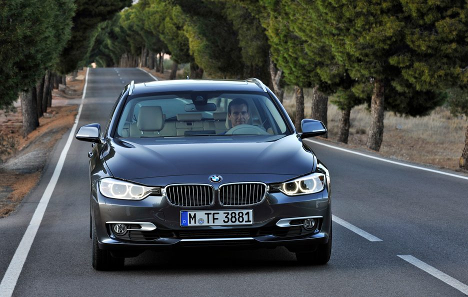 BMW Serie 3 Touring - Il muso