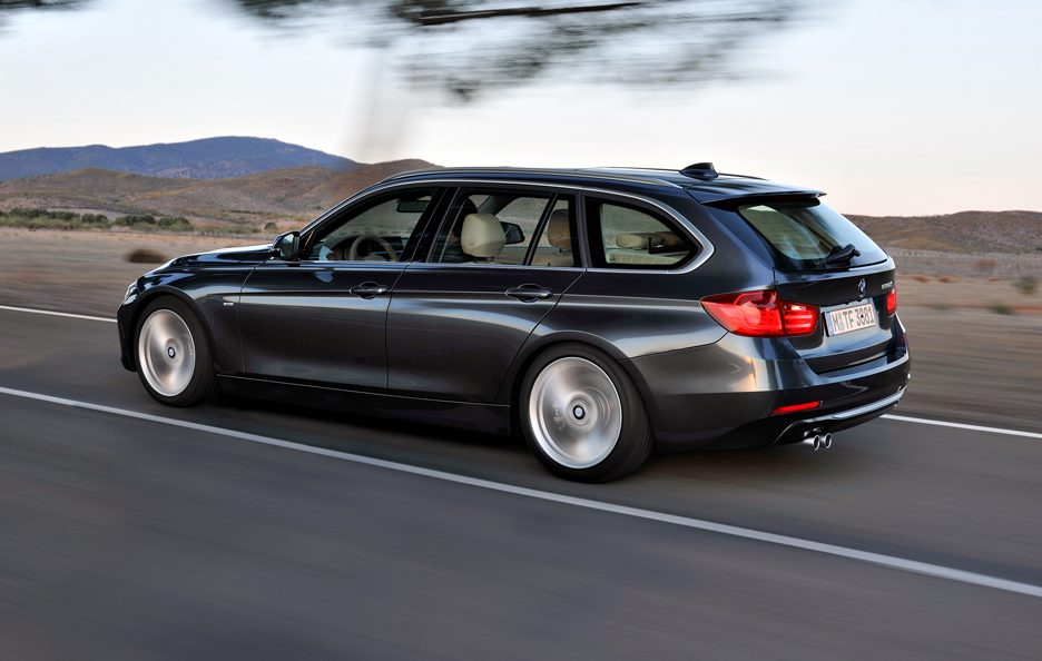 BMW Serie 3 Touring - Laterale