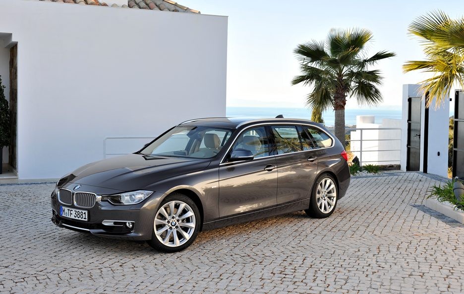 BMW Serie 3 Touring - Linee