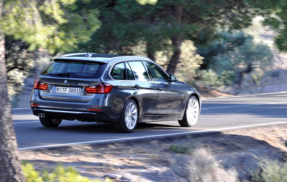 BMW Serie 3 Touring - Linee posteriore