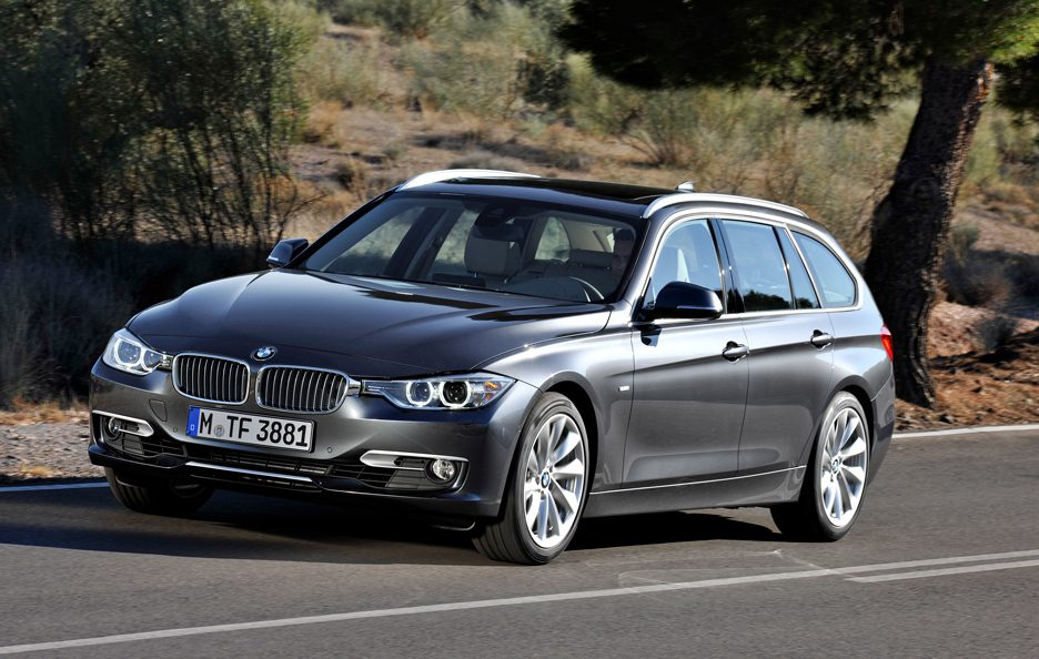 BMW Serie 3 Touring - Profilo frontale in motion
