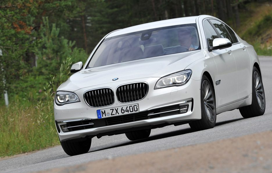BMW Serie 7 2012 - Frontale