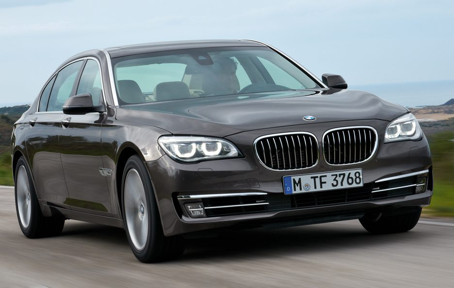 BMW Serie 7 - Frontale