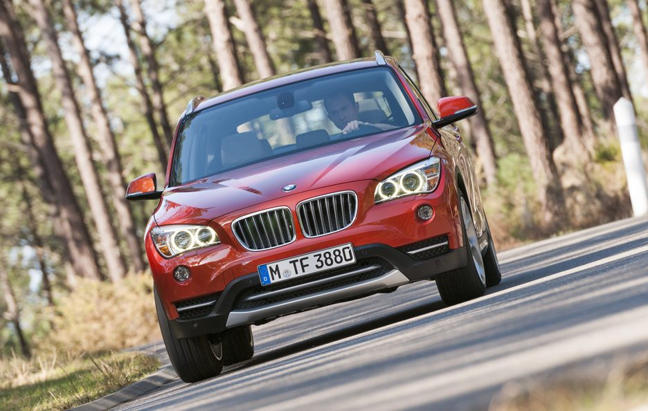BMW X1 2012 - Anteirore in motion