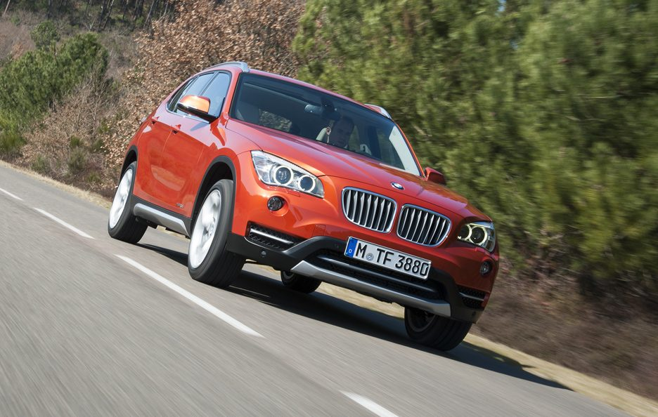BMW X1 2012 - Frontale basso in motion