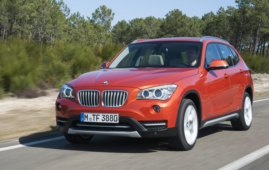 BMW X1 2012 - Frontale in motion