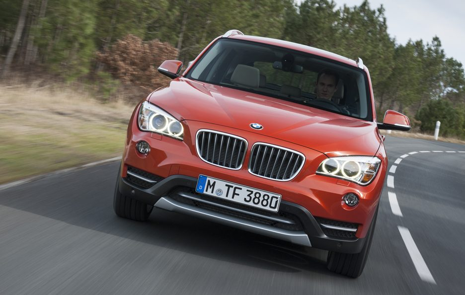 BMW X1 2012 - Il muso in motion