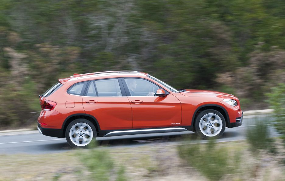 BMW X1 2012 - Laterale in motion