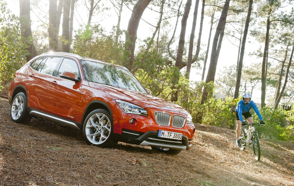 BMW X1 2012 - Linee laterali