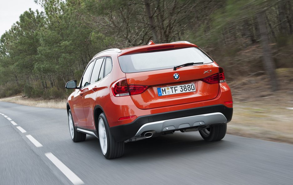 BMW X1 2012 - Posteriore in motion
