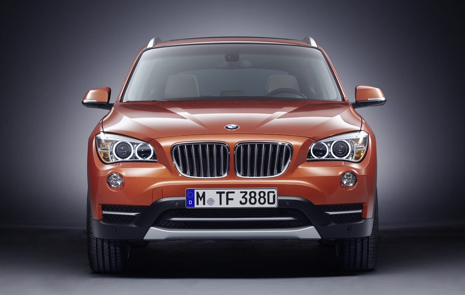 BMW X1 restyling frontale