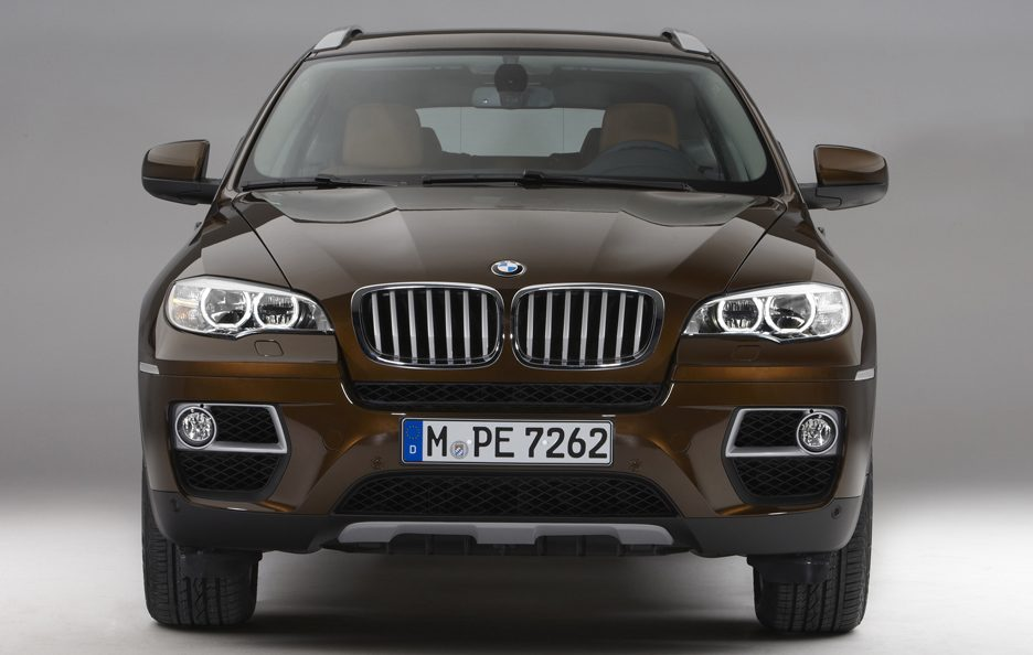 BMW X6 restyling frontale