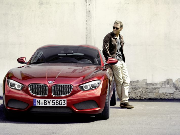 BMW Zagato Coupe - Design frontale