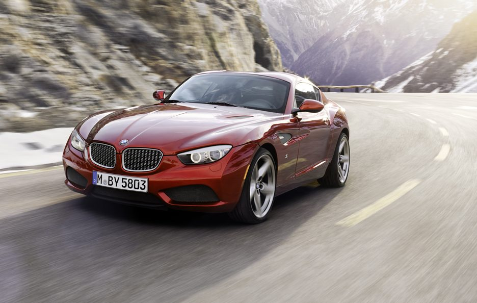BMW Zagato Coupe - Frontale in motion