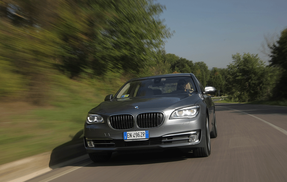 Bmw Serie 7 Frontale