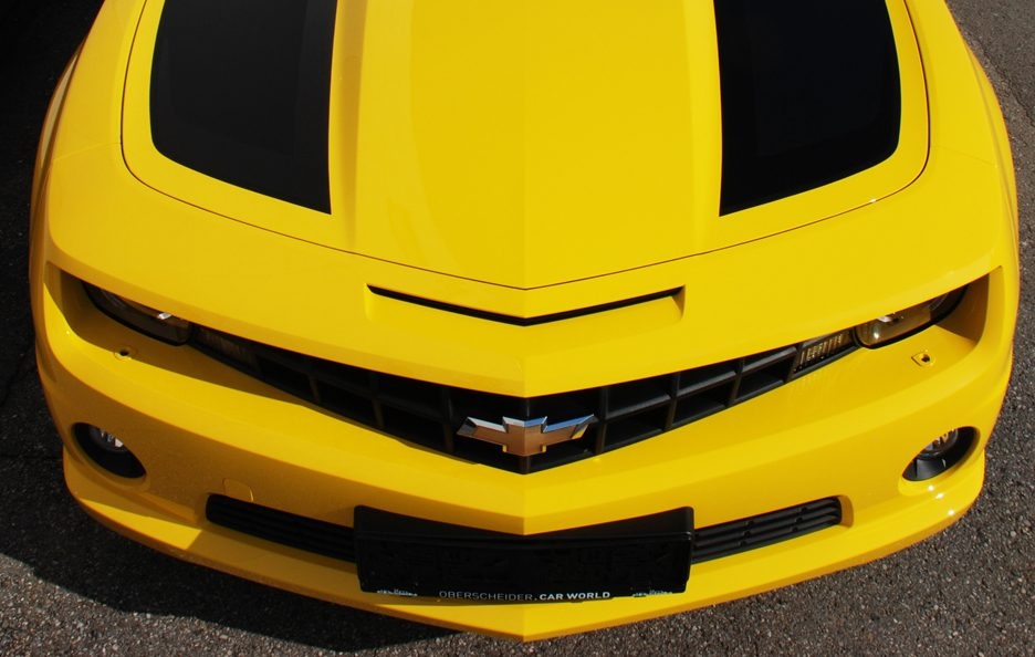 Chevrolet Camaro Transformers by O.CT-Tuning - Cofano