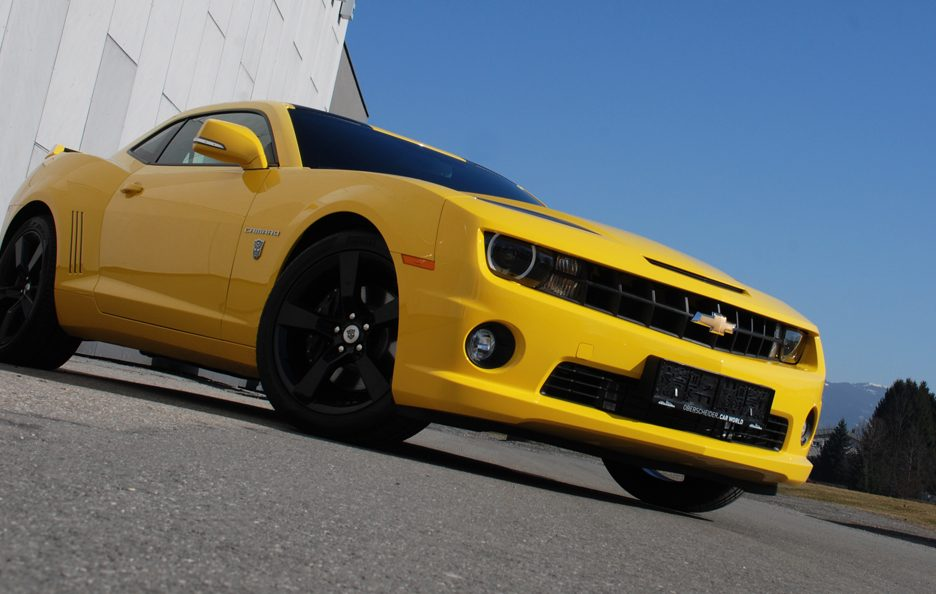 Chevrolet Camaro Transformers by O.CT-Tuning - Frontale basso