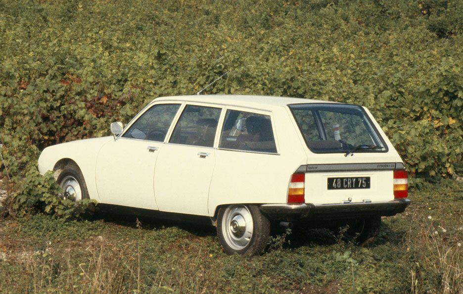 Citroën GS Break tre quarti posteriore