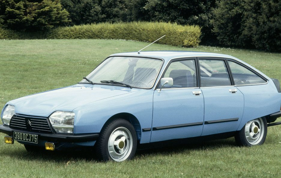 Citroën GS restyling