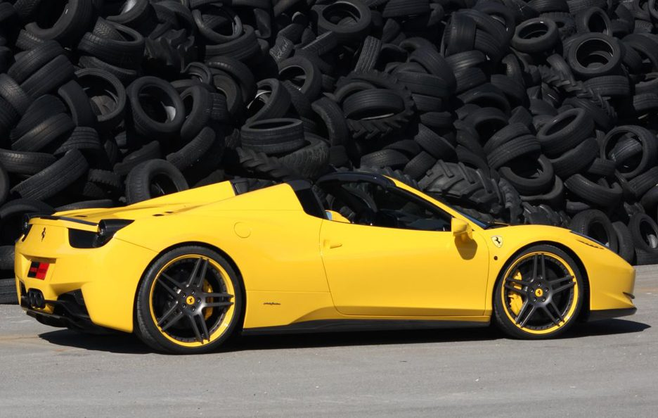 Ferrari 458 Spider by Novitec - Il laterale