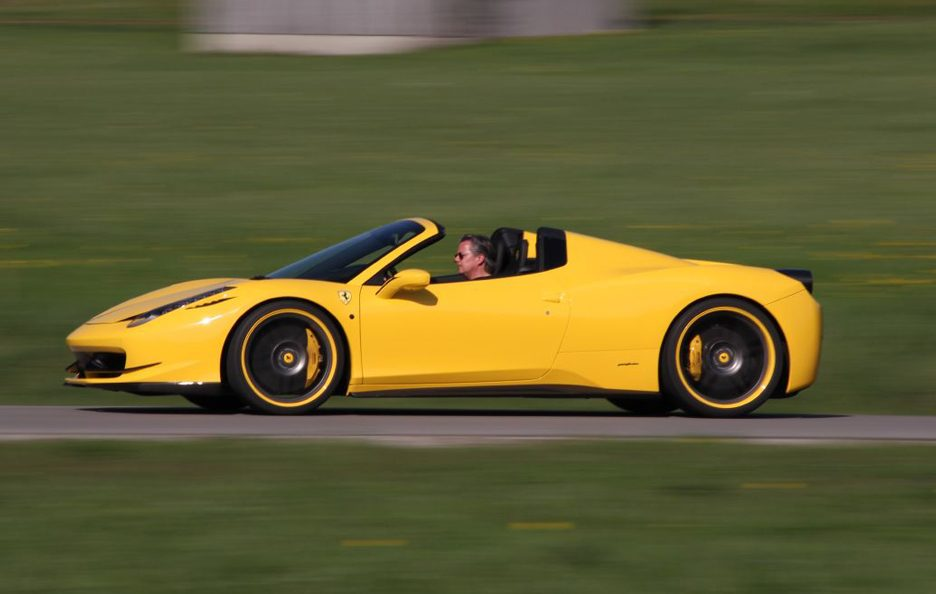 Ferrari 458 Spider by Novitec - Laterale
