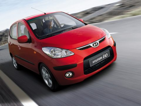 Hyundai i10 - Anteriore in motion