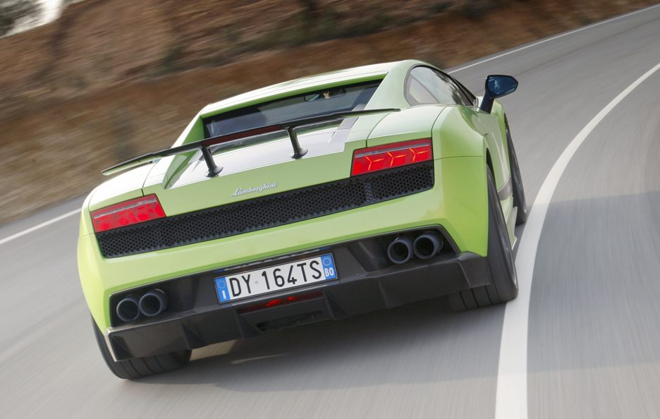 Lamborghini Gallardo LP 570-4 Superleggera coda