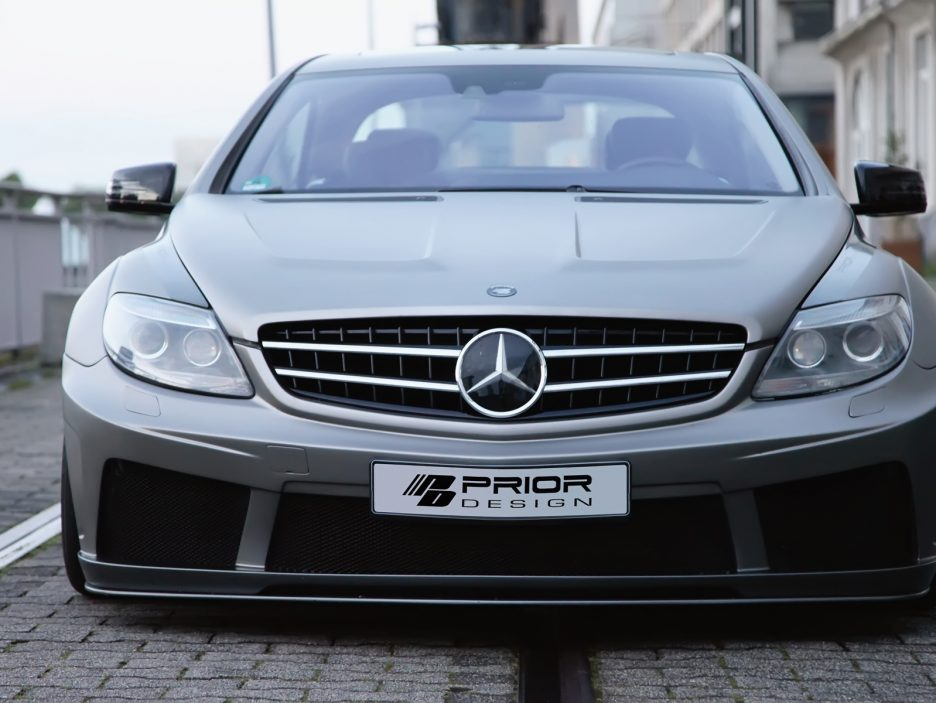 Mercedes CL W216 by Prior Design - Frontale