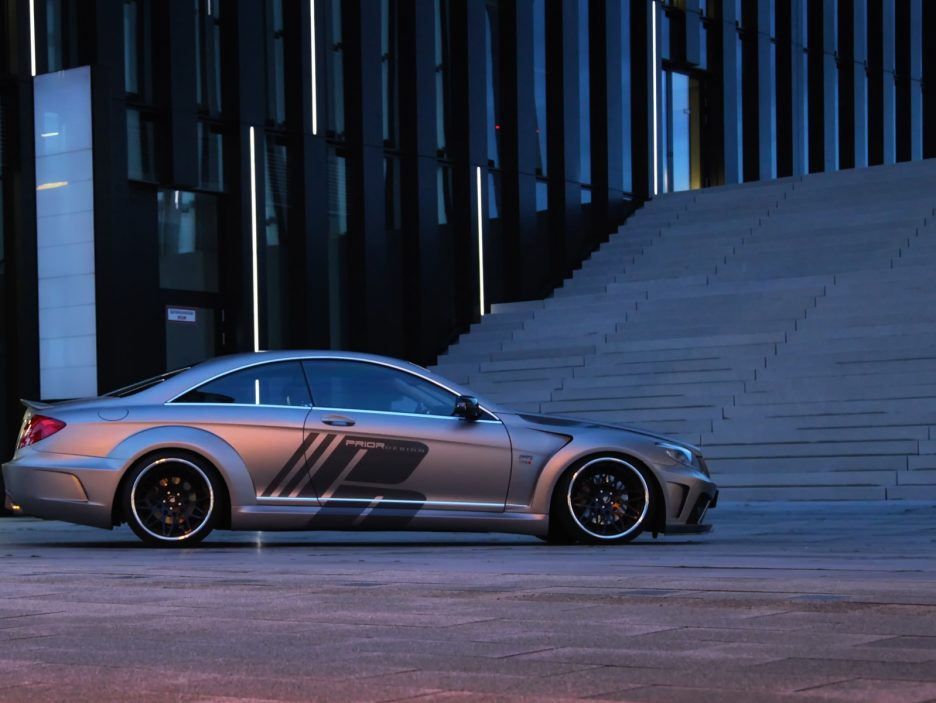 Mercedes CL W216 by Prior Design - Laterale