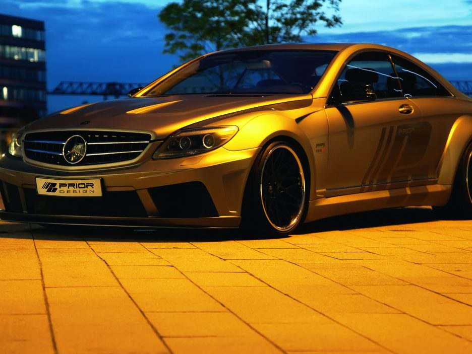 Mercedes CL W216 by Prior Design - Le linee