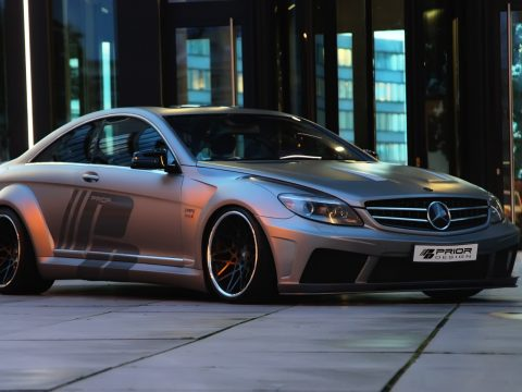 Mercedes CL W216 by Prior Design - Tre quarti frontale