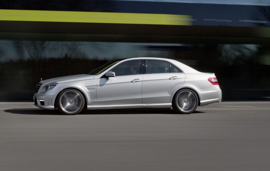 Mercedes Classe E  Berlina - In motion