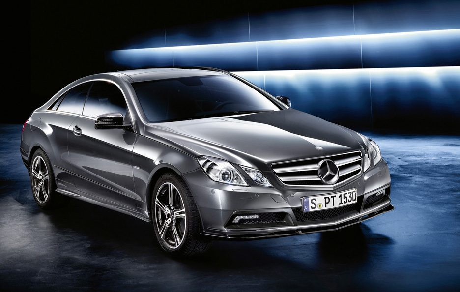 Mercedes Classe E  Coupe - Design