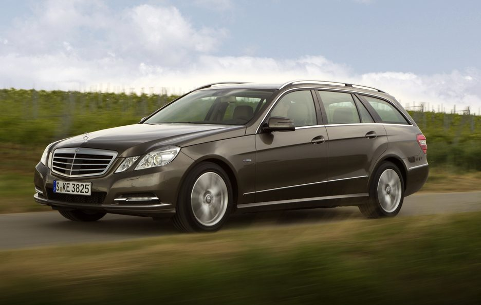 Mercedes Classe E  Station Wagon - In motion