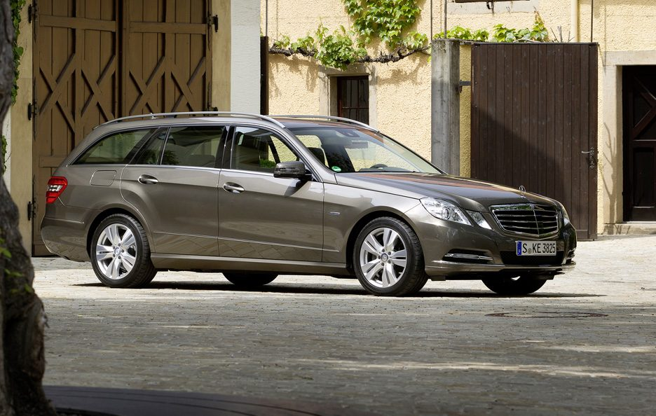 Mercedes Classe E  Station Wagon - Laterale