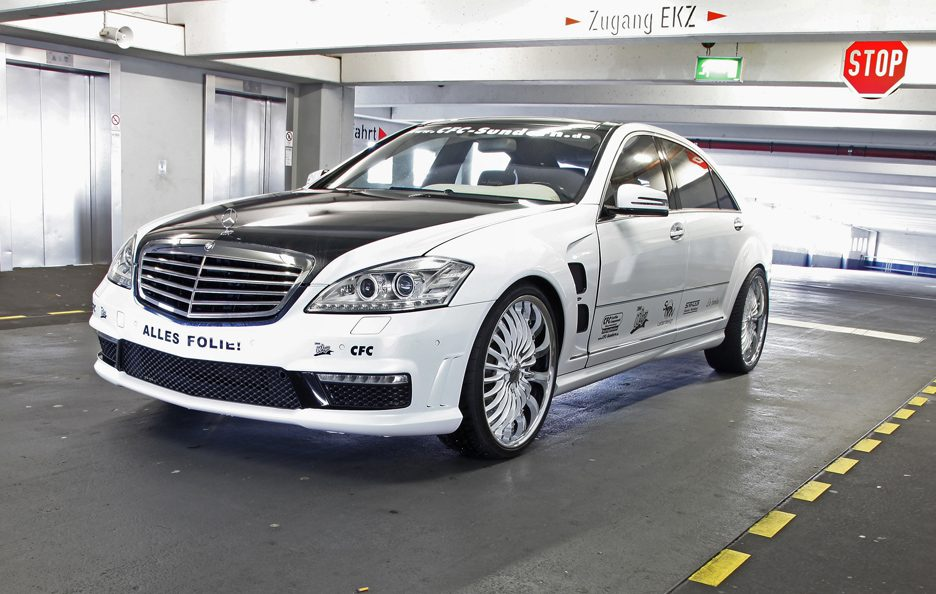 Mercedes S65 AMG V12 by CFC-Sundern DESIGN WORLD - Il profilo frontale