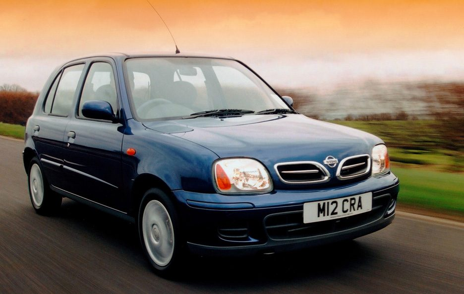 Nissan Micra K11 secondo restyling
