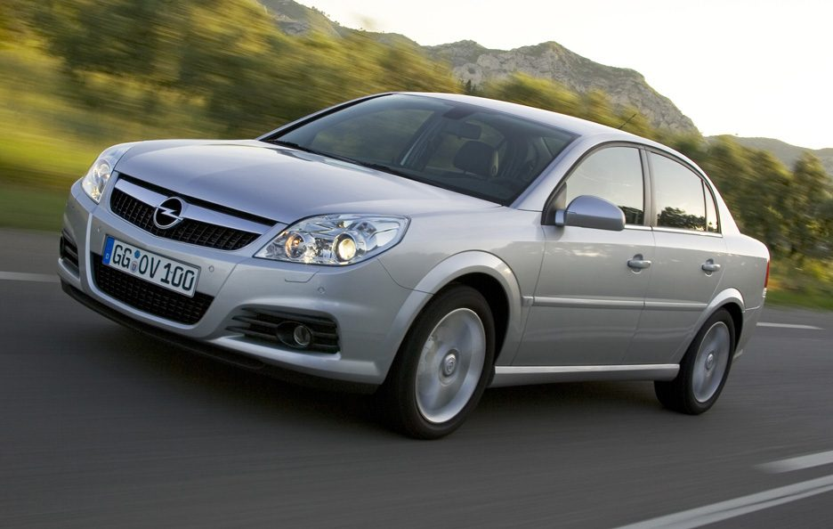 Opel Vectra C restyling