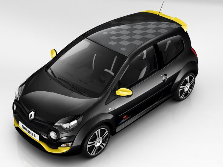 Renault Twingo RS Red Bull Racing RB7, city car da corsa