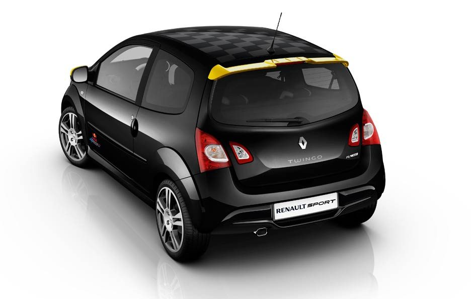 Renaul Twingo RS Red Bull Racing RB7 - Profilo posteriore
