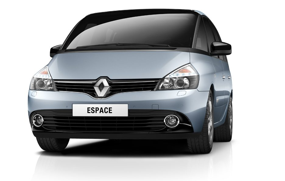 Renault Espace 2012 - Frontale
